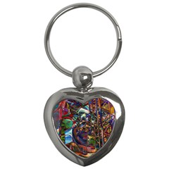 Las Vegas Nevada Ghosts Key Chains (heart)  by CrypticFragmentsDesign