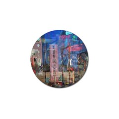 Las Vegas Strip Walking Tour Golf Ball Marker (10 Pack) by CrypticFragmentsDesign