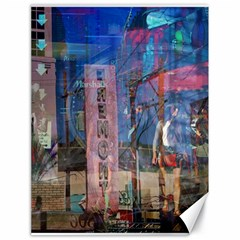 Las Vegas Strip Walking Tour Canvas 18  X 24   by CrypticFragmentsDesign