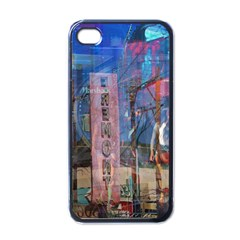 Las Vegas Strip Walking Tour Apple Iphone 4 Case (black) by CrypticFragmentsDesign