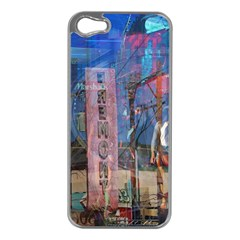 Las Vegas Strip Walking Tour Apple Iphone 5 Case (silver) by CrypticFragmentsDesign