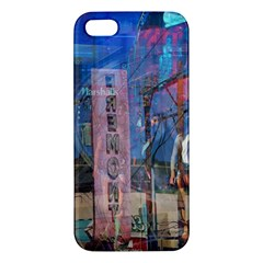 Las Vegas Strip Walking Tour Iphone 5s/ Se Premium Hardshell Case by CrypticFragmentsDesign