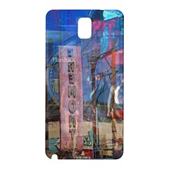 Las Vegas Strip Walking Tour Samsung Galaxy Note 3 N9005 Hardshell Back Case by CrypticFragmentsDesign