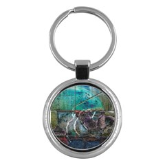 Vegas The Deep End  Key Chains (round)  by CrypticFragmentsColors