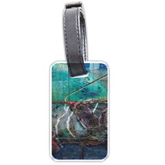 Vegas The Deep End  Luggage Tags (one Side)  by CrypticFragmentsColors