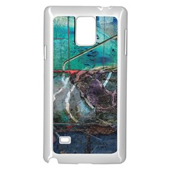 Vegas The Deep End  Samsung Galaxy Note 4 Case (white) by CrypticFragmentsColors