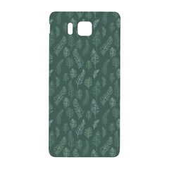 Solid Black Samsung Galaxy Alpha Hardshell Back Case by Zandiepants