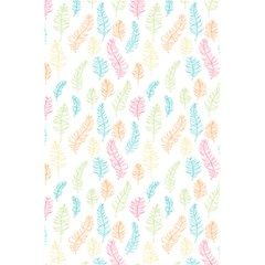 Whimsical Feather Pattern,fresh Colors, 5 5  X 8 5  Notebook by Zandiepants