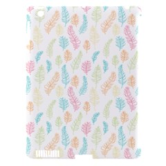 Whimsical Feather Pattern,fresh Colors, Apple Ipad 3/4 Hardshell Case (compatible With Smart Cover) by Zandiepants