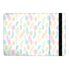 Whimsical Feather Pattern,fresh Colors, Samsung Galaxy Tab Pro 10 1  Flip Case by Zandiepants