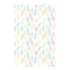 Whimsical Feather Pattern,fresh Colors, Shower Curtain 48  X 72  (small) by Zandiepants