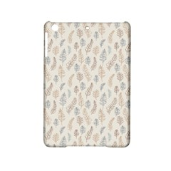 Whimsical Feather Pattern, Nature Brown, Apple Ipad Mini 2 Hardshell Case by Zandiepants