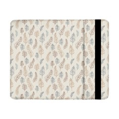 Whimsical Feather Pattern, Nature Brown, Samsung Galaxy Tab Pro 8 4  Flip Case by Zandiepants