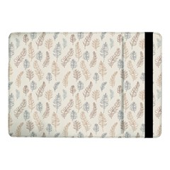 Whimsical Feather Pattern, Nature Brown, Samsung Galaxy Tab Pro 10 1  Flip Case by Zandiepants