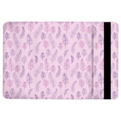 Whimsical Feather Pattern, Pink & Purple, Apple Ipad Air 2 Flip Case by Zandiepants