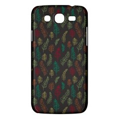 Whimsical Feather Pattern, Autumn Colors, Samsung Galaxy Mega 5 8 I9152 Hardshell Case  by Zandiepants
