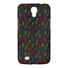 Whimsical Feather Pattern, Autumn Colors, Samsung Galaxy Mega 6 3  I9200 Hardshell Case by Zandiepants