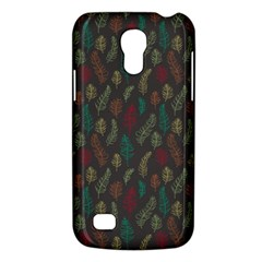 Whimsical Feather Pattern, Autumn Colors, Samsung Galaxy S4 Mini (gt I9190) Hardshell Case  by Zandiepants