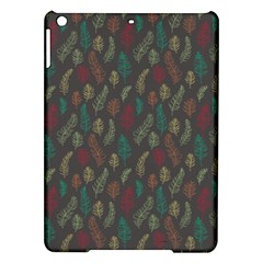 Whimsical Feather Pattern, Autumn Colors, Apple Ipad Air Hardshell Case by Zandiepants