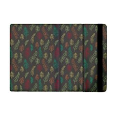 Whimsical Feather Pattern, Autumn Colors, Apple Ipad Mini 2 Flip Case by Zandiepants