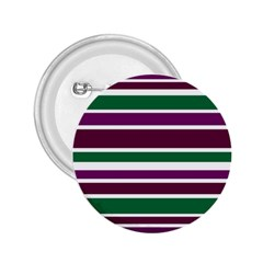 Purple Green Stripes 2 25  Buttons by BrightVibesDesign
