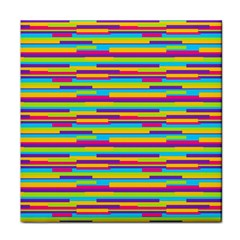 Colorful Stripes Background Face Towel by TastefulDesigns