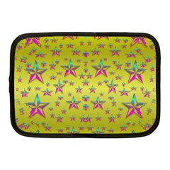 Flower Power Stars Netbook Case (medium)  by pepitasart