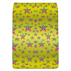 Flower Power Stars Flap Covers (l)  by pepitasart