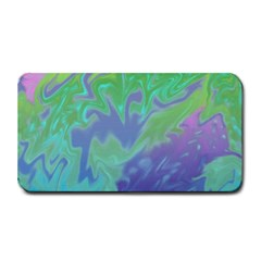 Green Blue Pink Color Splash Medium Bar Mats by BrightVibesDesign