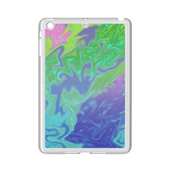 Green Blue Pink Color Splash Ipad Mini 2 Enamel Coated Cases by BrightVibesDesign