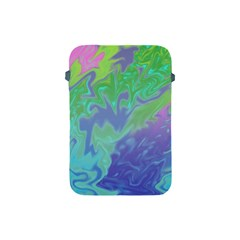 Green Blue Pink Color Splash Apple Ipad Mini Protective Soft Cases