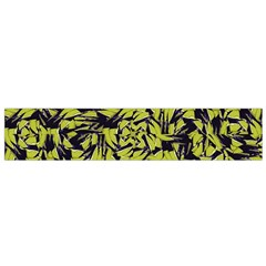 Modern Abstract Interlace Flano Scarf (small)  by dflcprints