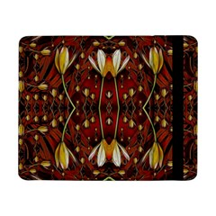 Fantasy Flowers And Leather In A World Of Harmony Samsung Galaxy Tab Pro 8 4  Flip Case by pepitasart