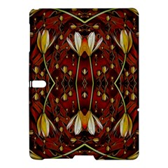 Fantasy Flowers And Leather In A World Of Harmony Samsung Galaxy Tab S (10 5 ) Hardshell Case  by pepitasart