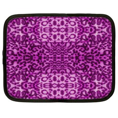 Lion In Purple Netbook Case (large)
