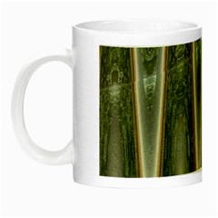Green Brown Zigzag Night Luminous Mugs