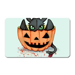 Halloween Dragon Magnet (rectangular) by lvbart