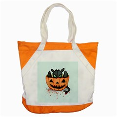 Halloween Dragon Accent Tote Bag by lvbart