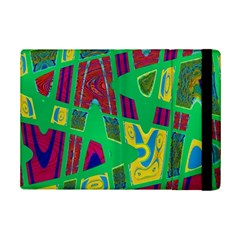 Bright Green Mod Pop Art Ipad Mini 2 Flip Cases by BrightVibesDesign