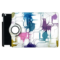 Cracked Wall                                 			apple Ipad 3/4 Flip 360 Case by LalyLauraFLM