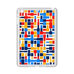 Colorful Shapes                                  			apple Ipad Mini 2 Case (white) by LalyLauraFLM