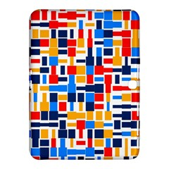 Colorful Shapes                                  			samsung Galaxy Tab 4 (10 1 ) Hardshell Case by LalyLauraFLM
