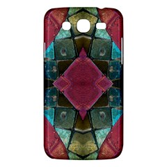 Pink Turquoise Stone Abstract Samsung Galaxy Mega 5 8 I9152 Hardshell Case  by BrightVibesDesign