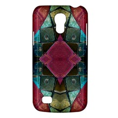 Pink Turquoise Stone Abstract Galaxy S4 Mini by BrightVibesDesign