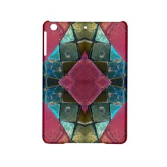 Pink Turquoise Stone Abstract Ipad Mini 2 Hardshell Cases by BrightVibesDesign