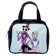 Nightmare In Wonderland  Classic Handbags (one Side) by lvbart