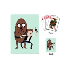 Space Adventure! Mans Best Friend Playing Cards (mini)  by lvbart
