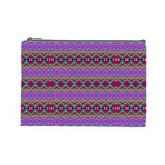 Dance Hall Cosmetic Bag (large)  by MRTACPANS