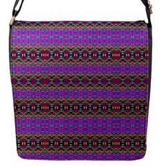 Dance Hall Flap Messenger Bag (s) by MRTACPANS