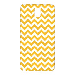 Sunny Yellow & White Zigzag Pattern Samsung Galaxy Note 3 N9005 Hardshell Back Case